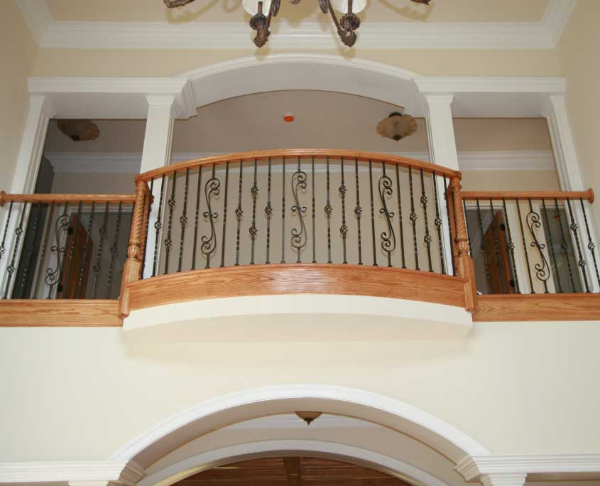 cregger construction home contractors up stairs railings and banisters installation in carroll county maryland