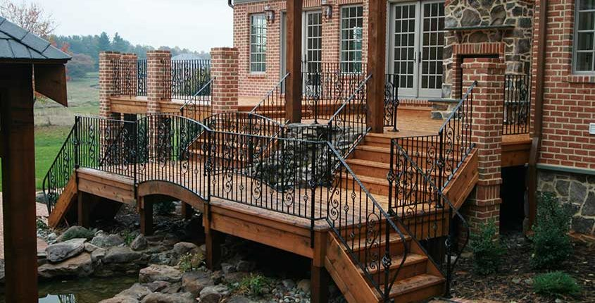 cregger construction home contractors exterior home remodeling outdoor deck patio stairs and railng
