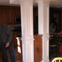 Kitchen remodeling contractors at work