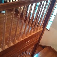 Stair and rails