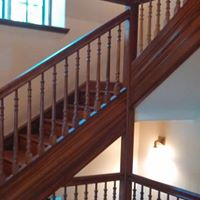 Stair and railing example