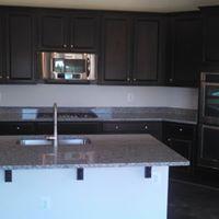 Bold kitchen design