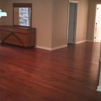 Refinish wood floors