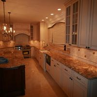 Large kitchen remodeling
