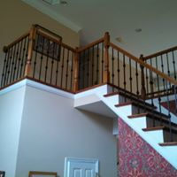 Stair and railing design