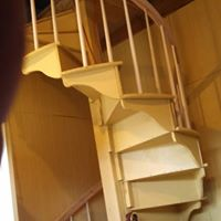 Curved stair design
