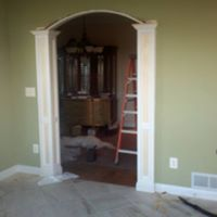 Entry way remodel