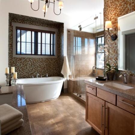 Large bathroom remodel