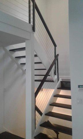Modern railing design