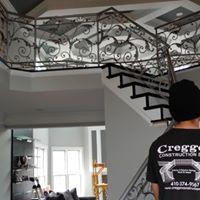 Iron railing design