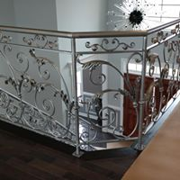 Iron railing design