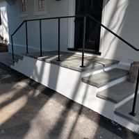 Commercial building stair remodel