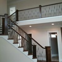 Second story railing remodel