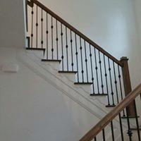 Wooden railing remodel