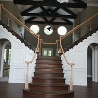 Large staircase remodel