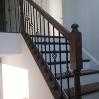 Stair and railing remodel
