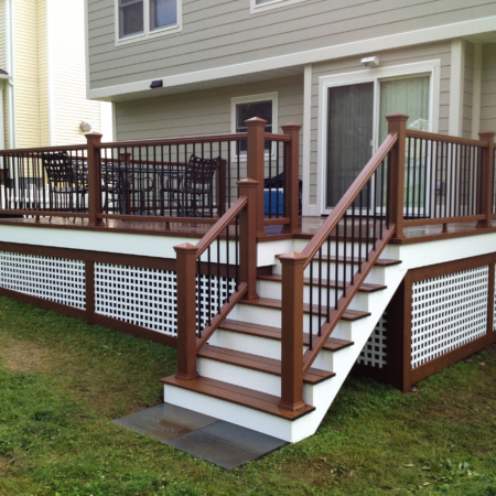 Deck remodel in Baltimore
