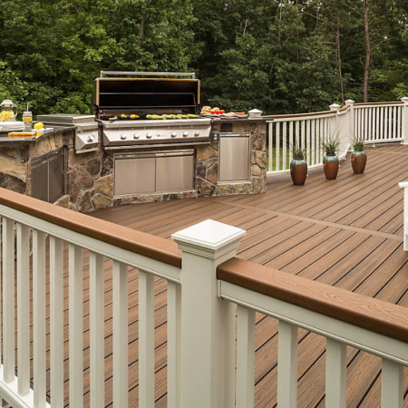 Large deck construction