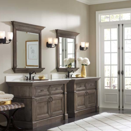Cypress bathroom design