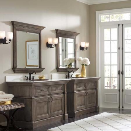 Cypress bathroom design