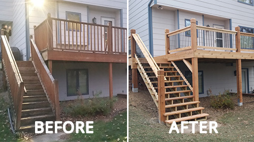 Home deck remodel services