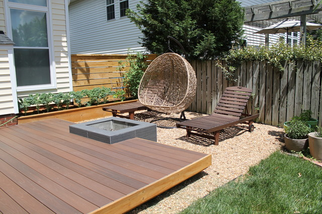 Modern platform deck addition