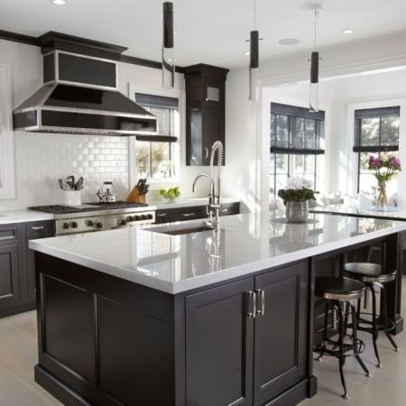 Modern kitchen remodeling
