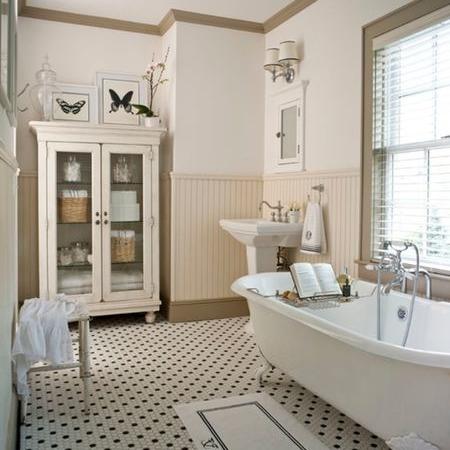 Old fashioned bathroom remodel